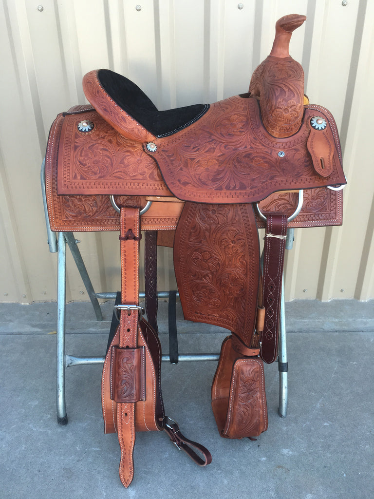 Corriente Team Roping Saddle SB103-A