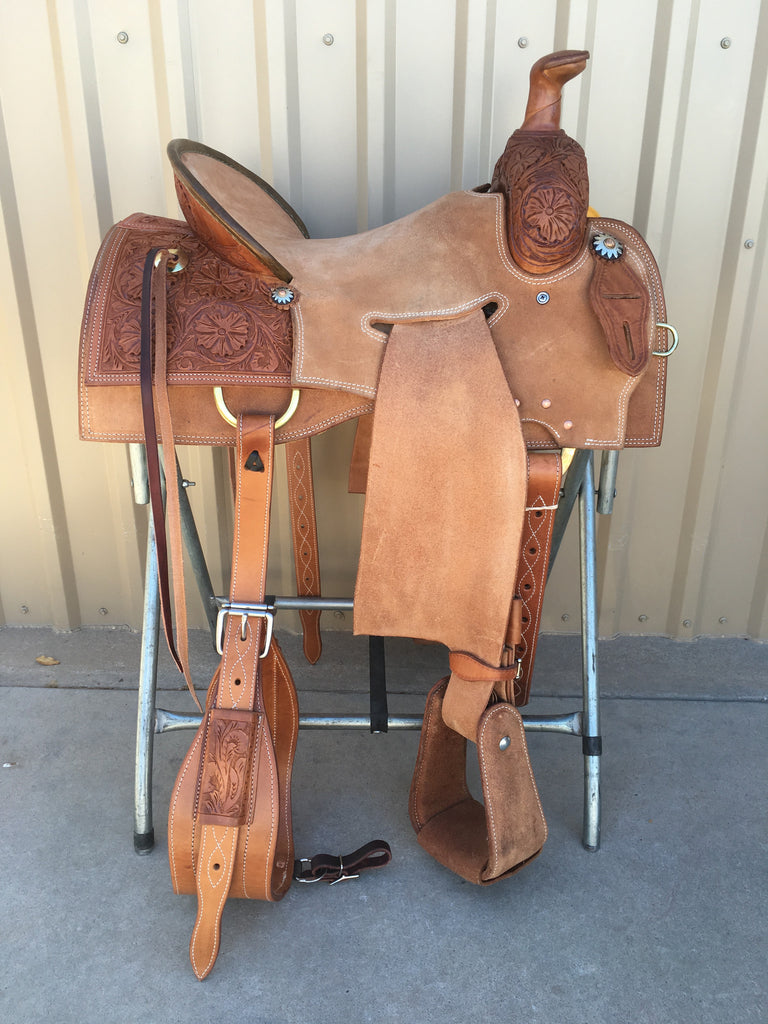 Corriente Strip Down Team Roping Saddle SB1102