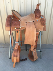 Corriente Strip Down Team Roping Saddle SB1102 - The Sale Barn
