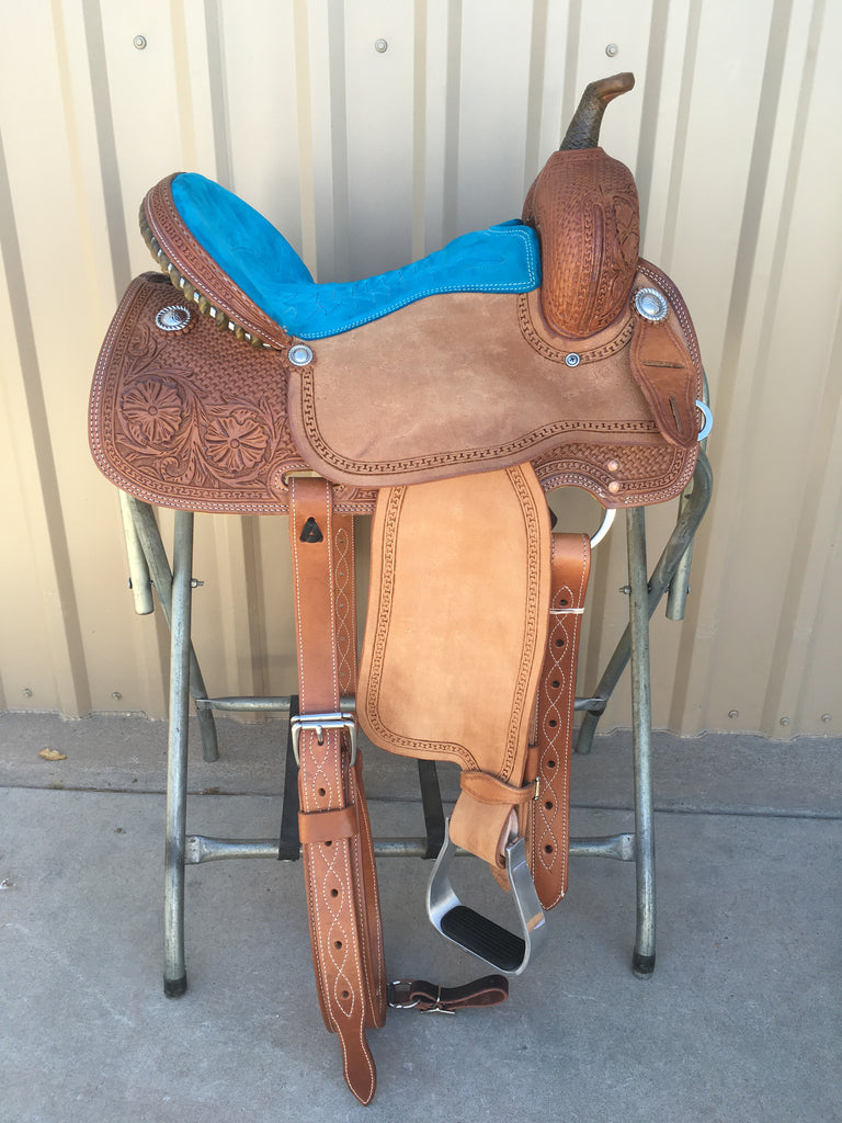Corriente Barrel Racing Saddle SB560