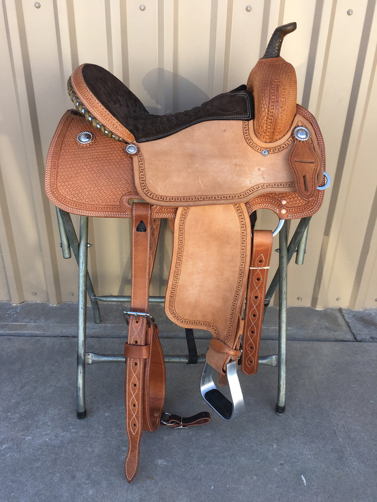Corriente Barrel Racing Saddle SB558