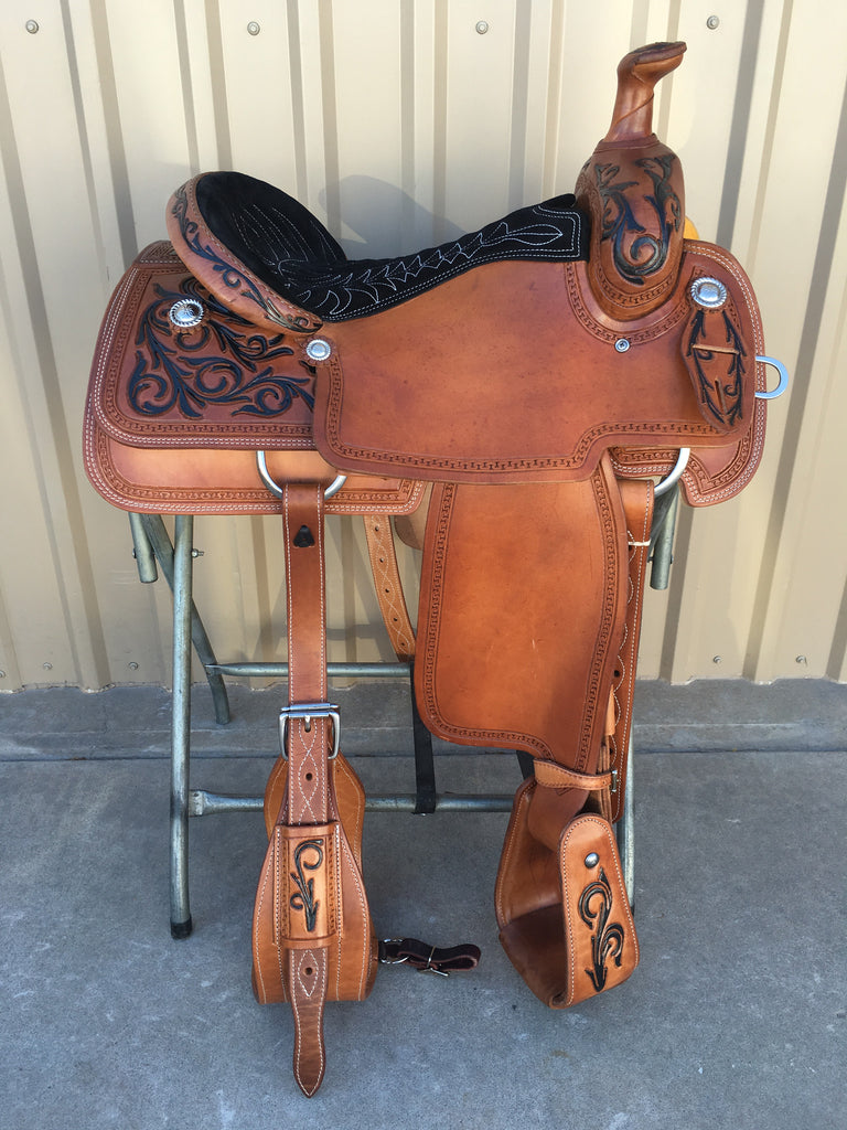 Corriente Team Roping Saddle SB113A