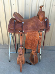 Corriente Ranch Will James Association Saddle SB361 - The Sale Barn - 1
