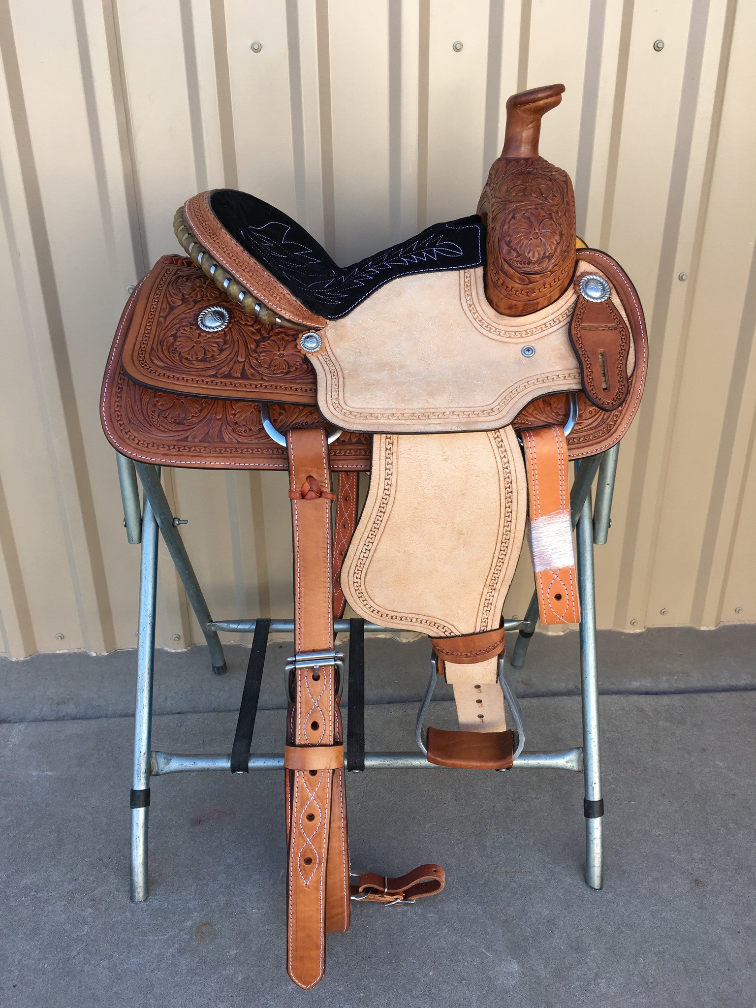 "Corriente 13"" Youth Kids Roper SB722 - The Sale Barn - 1"