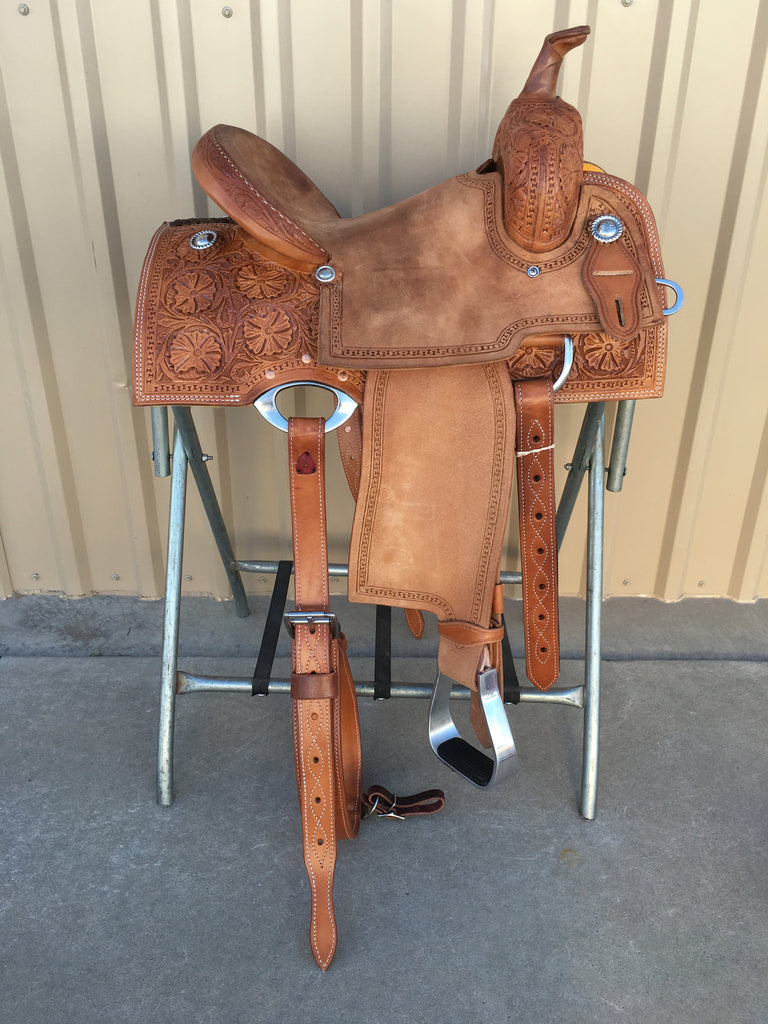 Corriente Barrel Racing Saddle SB550A