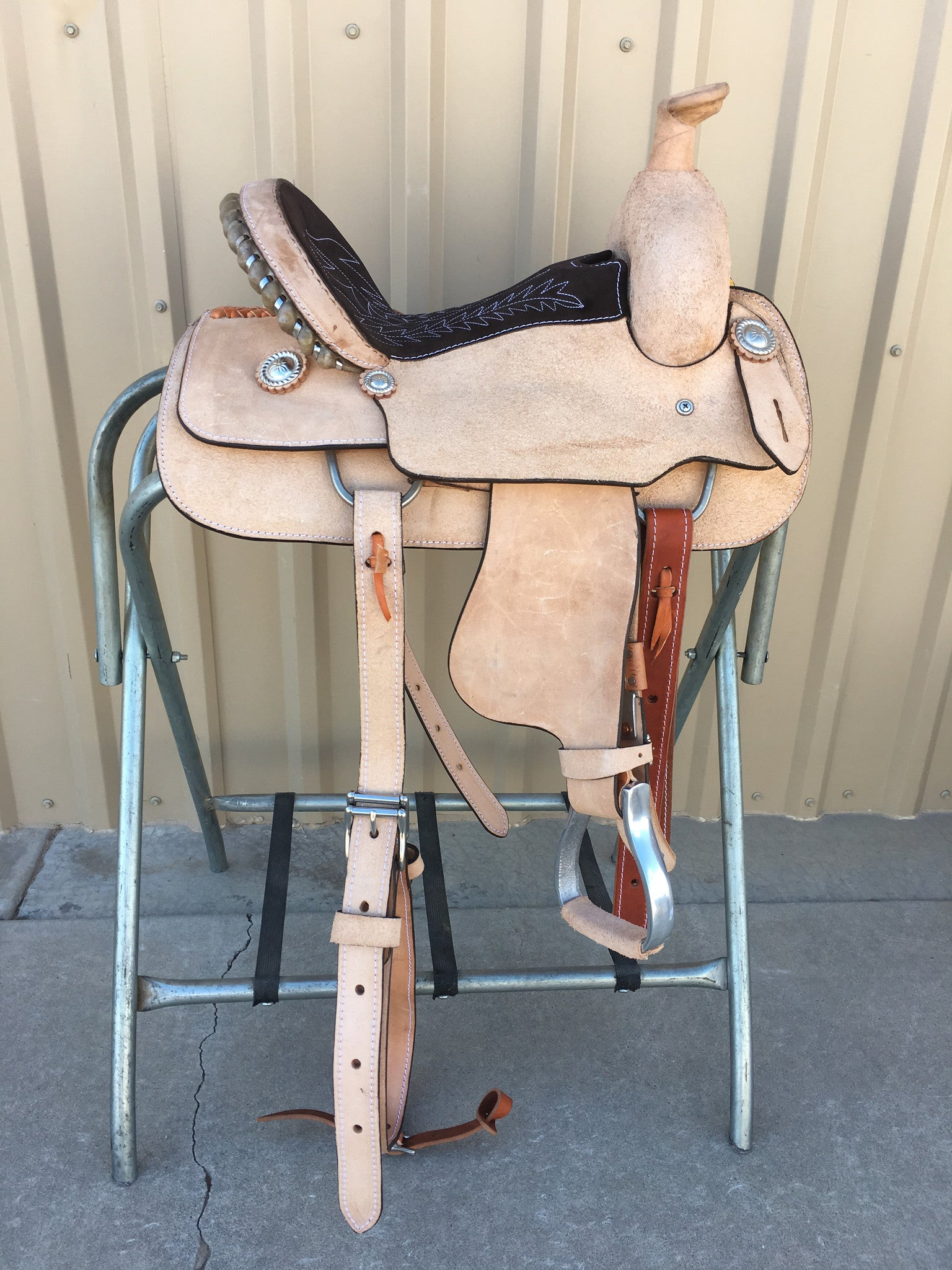 "Corriente 12"" Youth Kids Roper SB717B - The Sale Barn - 1"