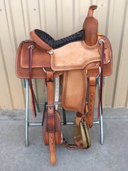 Corriente Ranch Cutter Sorting Saddle SB908A - The Sale Barn - 1