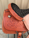 Corriente Team Roping Saddle SB117A - The Sale Barn - 5