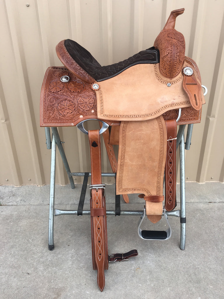 Corriente Barrel Racing Saddle SB550B