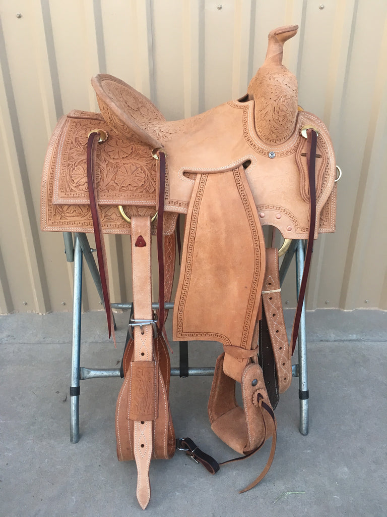 Corriente Strip Down Team Roping Saddle SB1101