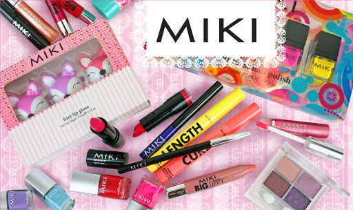 "Miki cosmetics has arrived at LoveMy Makeup NZ. In the words of the Miki Cosmetics team themselves, Miki is a 'playful and versatile cosmetic range' and  is for the 'pretty, bold and young at heart""."