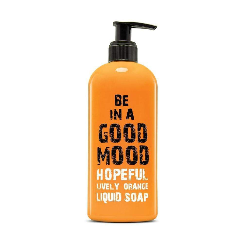 Be In A Good Mood Orange Hopeful Liquid Soap 400m - cheap makeup, cosmetic & clearance sales at the LoveMy Makeup online store NZ
