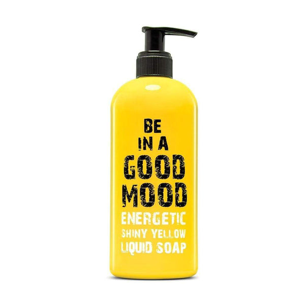 Be In A Good Mood Yellow Energy Liquid Soap 400ml - cheap makeup, cosmetic & clearance sales at the LoveMy Makeup online store NZ