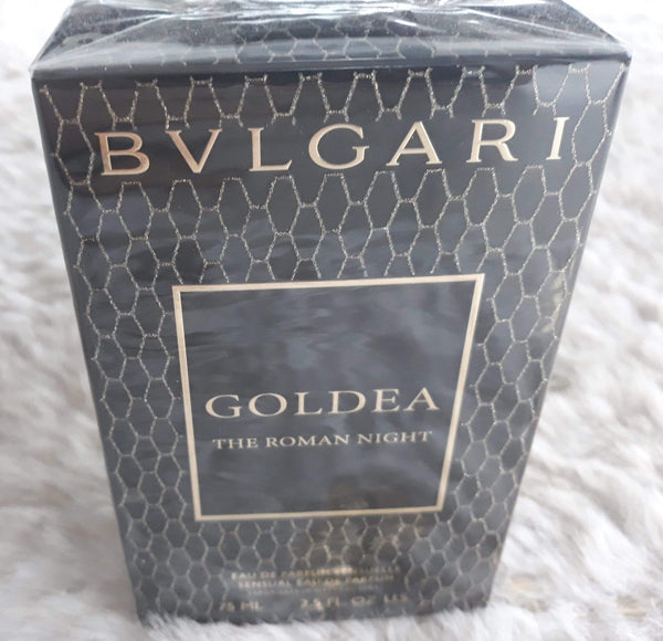 Bvlgari Goldea Roman Night EDP 75ml-  With GOLDEA THE ROMAN NIGHT, BVLGARI is writing a new chapter in its olfactory narrative: its very first chypre, a Floral Musky Chypre. A fragrance with a more contemporary signature for women who find its bold character both appealing and intriguing.  Bvlgari Fragrance & perfume brought to you by LoveMy Makeup NZ