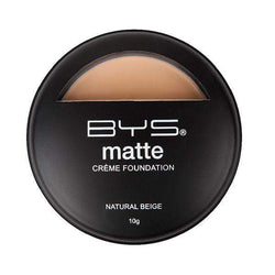 BYS 01 Creme Foundation Matte Natural Beige - cheap makeup, cosmetic & clearance sales at the LoveMy Makeup online store NZ