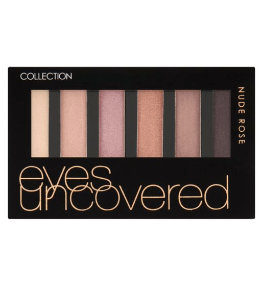 Collection Eyeshadow  Eyes Uncovered - Matt Nude Rose - makeup nz cosmetics beauty la girl