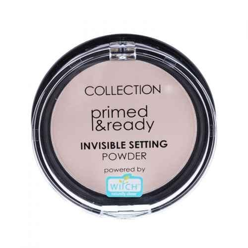 Collection Invisible Setting Powder (Witch Hazel)  - Primed and Ready, this setting powder is a finely-milled pressed powder to set your make-up in place.  This super light powder feels weightless on the skin and adds a subtle luminous glow.  Collection Powder at LoveMy Makeup NZ