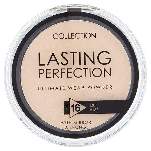 Collection Lasting perfection powder (01 Fair) - makeup nz cosmetics beauty la girl