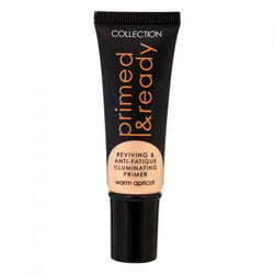 Collection Primed & Ready Illuminating Primer  (Warm Apricot) - makeup nz cosmetics beauty la girl