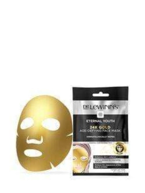 Dr LeWinn's 24K Gold Age-Defying Face Mask 1PK - cheap makeup, cosmetic & clearance sales at the LoveMy Makeup online store NZ