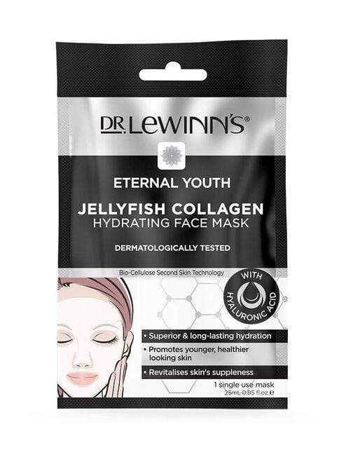 Dr LeWinn's Jellyfish Collagen Hydrating Face Mask 1 Pk - cheap makeup, cosmetic & clearance sales at the LoveMy Makeup online store NZ