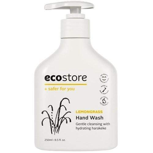 ecostore Lemongrass Hand Wash Pump 250ml - cheap makeup, cosmetic & clearance sales at the LoveMy Makeup online store NZ