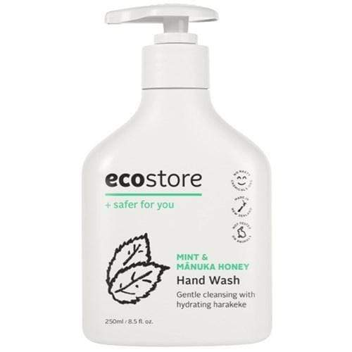 ecostore Mint & Manuka Honey Hand Wash Pump 250ml - cheap makeup, cosmetic & clearance sales at the LoveMy Makeup online store NZ