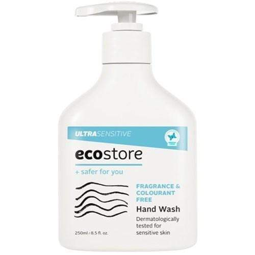 ecostore Ultra Sensitive Soap Liquid Pump  250ml - cheap makeup, cosmetic & clearance sales at the LoveMy Makeup online store NZ