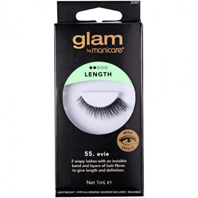Glam Mink Effect False Lashes - Evie - cheap makeup, cosmetic & clearance sales at the LoveMy Makeup online store NZ