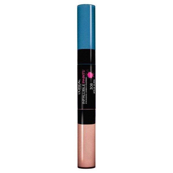 L'Oreal Infallible Paints Eyeshadow - 308 Aqua Aura - cheap makeup, cosmetic & clearance sales at the LoveMy Makeup online store NZ