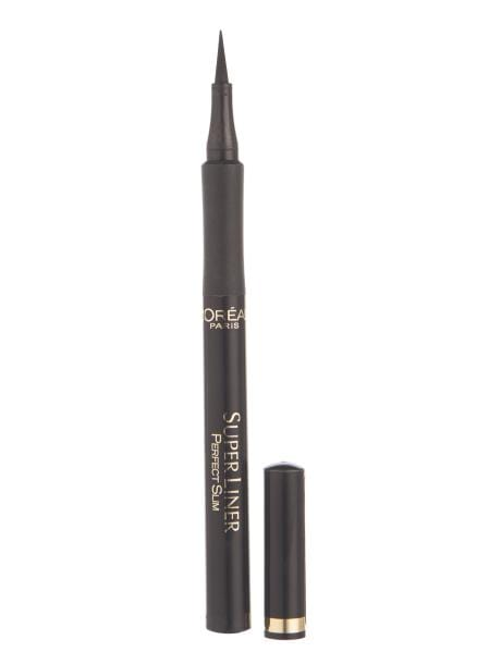 L'Oreal Superliner Perfect Slim Eyeliner (Intense Black)- L'Oréal Paris Superliner Perfect Slim is the ultimate liquid liner, featuring a flexible felt tip for mess free application.  LOreal Superliner Eyeliner at LoveMy Makeup NZ