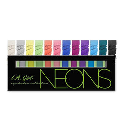 LA Girl Beauty Brick Eyeshadow - Neons - cheap makeup, cosmetic & clearance sales at the LoveMy Makeup online store NZ