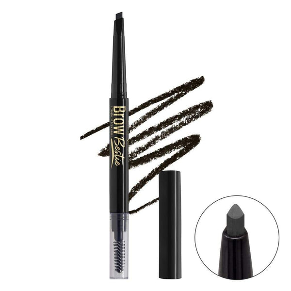 LA Girl Brow Bestie Brow Pencil - Black Brown - cheap makeup, cosmetic & clearance sales at the LoveMy Makeup online store NZ