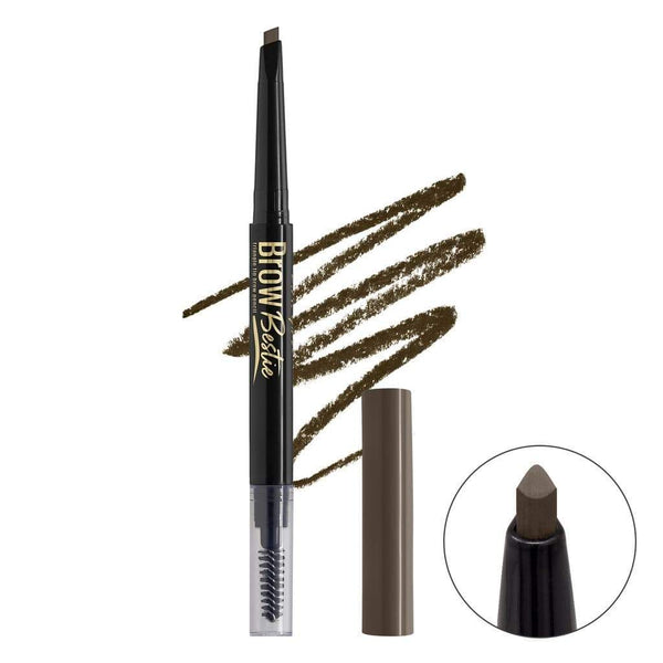LA Girl Brow Bestie Brow Pencil - Brunette - cheap makeup, cosmetic & clearance sales at the LoveMy Makeup online store NZ