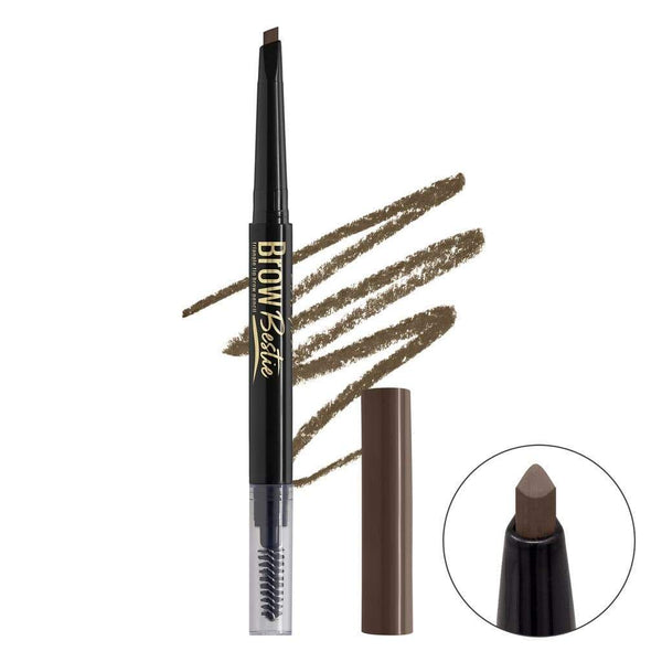 LA Girl Brow Bestie Brow Pencil - Soft Brown - cheap makeup, cosmetic & clearance sales at the LoveMy Makeup online store NZ