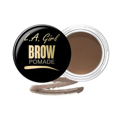 LA Girl Brow Pomade (Blonde) - Define and sculpt perfect looking brows. Creamy pomade glides on smoothly and locks into place. Water-resistant formula lasts throughout the day without fading or smudging. Available in 6 flattering shades to fill and fix brows. Complement your brow fix with PRO.brush Duo Brow Brush, featuring an angled brush and spoolie. LA Girl Brow Pomade LoveMy Makeup NZ