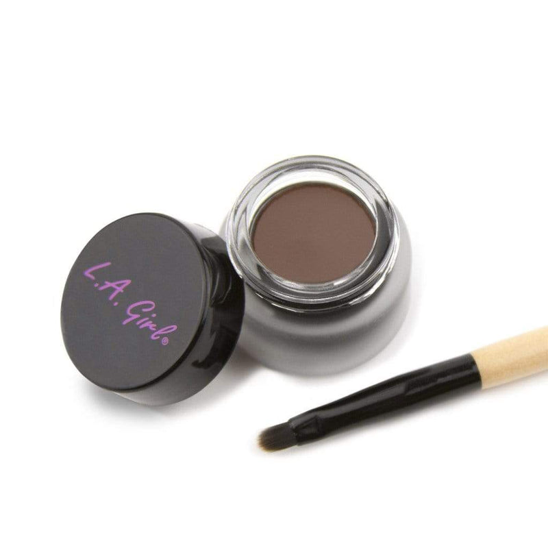 LA Girl Gel Eyeliner with Liner Brush - 724 Brown - cheap makeup, cosmetic & clearance sales at the LoveMy Makeup online store NZ
