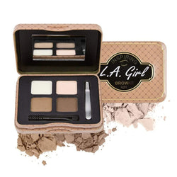 LA Girl Inspiring Brow Kit - Light & Bright - cheap makeup, cosmetic & clearance sales at the LoveMy Makeup online store NZ
