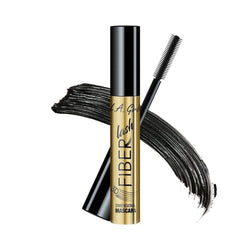 LA Girl Mascara Fiber Lash - Fibers instantly adds volume for that false-lash look. Water resistant formula with flexible silicone brush instantly amplifies lashes. Added panthenol helps condition lashes. LA Girl Mascara Fiber Lash brought to you by LoveMy Makeup