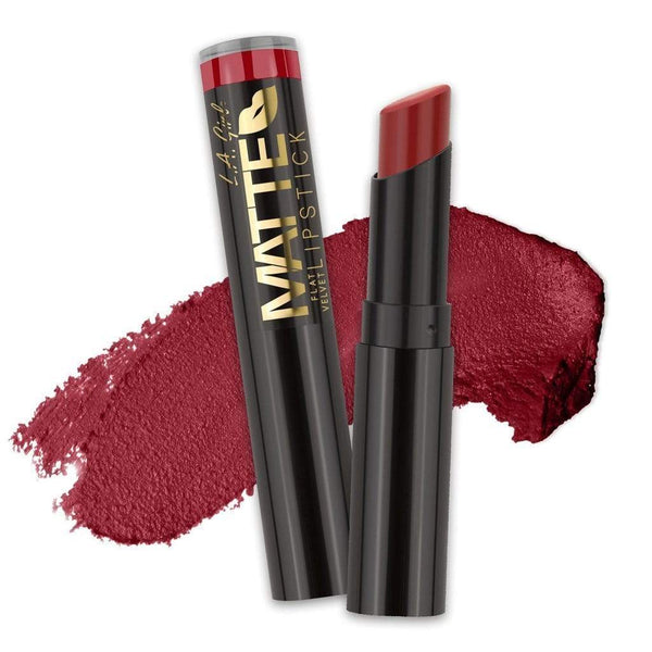 LA Girl Matte Flat Velvet Lipstick - 810 Bite Me - cheap makeup, cosmetic & clearance sales at the LoveMy Makeup online store NZ