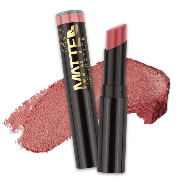 LA Girl Matte Flat Velvet Lipstick - 813 Hush - cheap makeup, cosmetic & clearance sales at the LoveMy Makeup online store NZ