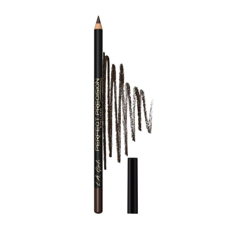 LA Girl Perfect Precision Eyeliner Pencil - 704 Brown - cheap makeup, cosmetic & clearance sales at the LoveMy Makeup online store NZ
