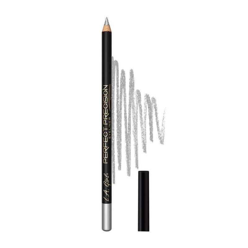 LA Girl Perfect Precision Eyeliner Pencil - 707 Metallic Silver - cheap makeup, cosmetic & clearance sales at the LoveMy Makeup online store NZ