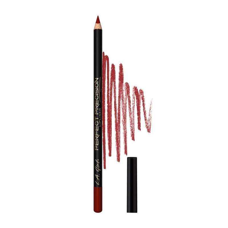 LA Girl Perfect Precision Lipliner Pencil - 720 Reddish - cheap makeup, cosmetic & clearance sales at the LoveMy Makeup online store NZ