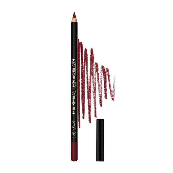 LA Girl Perfect Precision Lipliner Pencil - 721 Deep Red - cheap makeup, cosmetic & clearance sales at the LoveMy Makeup online store NZ