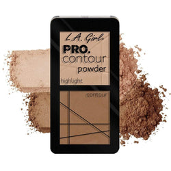 LA Girl Pro Contour Powder - Highlight/Contour - cheap makeup, cosmetic & clearance sales at the LoveMy Makeup online store NZ