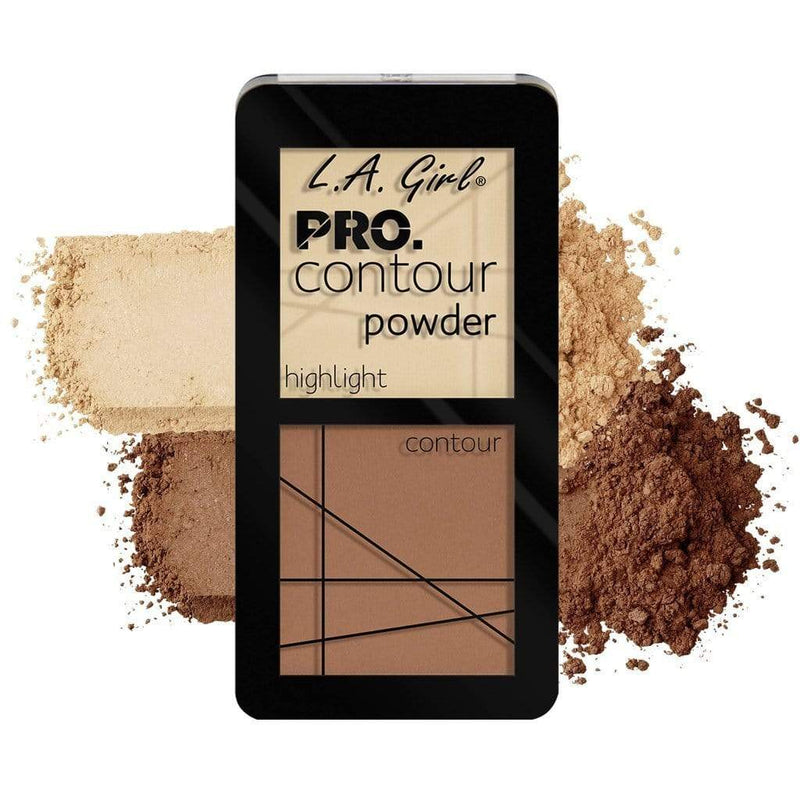 LA Girl Pro Contour Powder - Light - cheap makeup, cosmetic & clearance sales at the LoveMy Makeup online store NZ