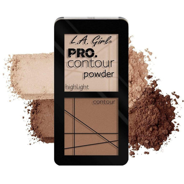 LA Girl Pro Contour Powder (Natural) - Contouring made easy with color coordinated shades. Available in 8 cream and 8 powder duos. Buttery, soft formula melts into skin for a natural finish. - cheap makeup, cosmetic & clearance sales at the LoveMy Makeup online store NZ