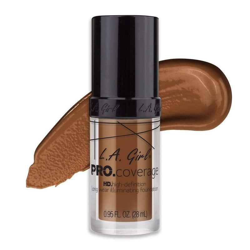 LA Girl Pro Coverage Foundation - 654 Coffee - cheap makeup, cosmetic & clearance sales at the LoveMy Makeup online store NZ