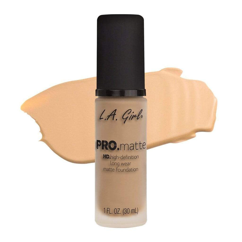 LA Girl Pro Matte Foundation - 672 Bisque - cheap makeup, cosmetic & clearance sales at the LoveMy Makeup online store NZ
